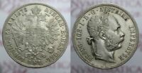 1 FLORIN 1878 FRANCESCO GIUSEPPE I AUSTRIA