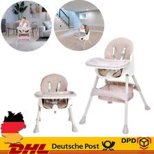 3 in 1 Baby-Hochstuhl Sitz für erhöhte Essenszeiten Klappba Robust Verstellbar