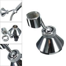 Shower Head Holder Chrome Bathroom Wall Mounted Handset Adjustable Bracket