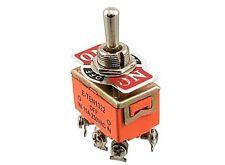 5 Gros Interrupteurs E-TEN 15A 250V 2RT ON/OFF/ON  NEUFS