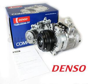 New! BMW Denso A/C Compressor and Clutch 471-1119 64526910458