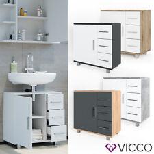 Waschbeckenunterschrank Waschtisch Unterschrank Badezimmer Ilias Vicco