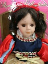 """Barbara Lee Petite Porcelains 10"""" Snow White Storybook Collection"""