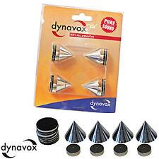 Dynavox Sub-Watt-Absorber 4er Set Chrom Boxenfüsse
