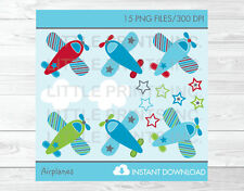 Airplanes Aviator Clipart