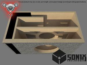 STAGE 2 - PORTED SUBWOOFER MDF ENCLOSURE FOR ALPINE SWR-12 SUB BOX