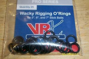 VRX Pro Series Wacky Rigging O'Rings 25 Count