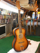 Vintage Egmond Made In Holland  STADIUM acoustic parlor Guitar Plays Nice action