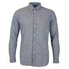 Folk Grey Mini Check Shirt 5 / XL *NEW WITH TAGS* RRP £120