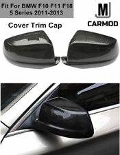 Fit For BMW F10 F11 2011-2013 Real Carbon Fiber Door Side Mirror Cover Trim Caps