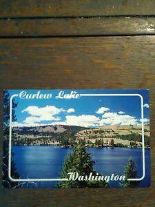 CURLEW LAKE PHOTO POST CARD REPUBLIC  WASHINGTON EASTERN WASHINGTON