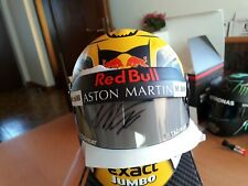 Signed Max Verstappen mini Helm helmet casque 1:2 GP Austria 2018 Red Bull