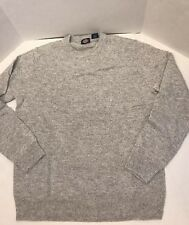 Dickies Men Solid Jersey Crew Sweater Cloud Size Medium Gray