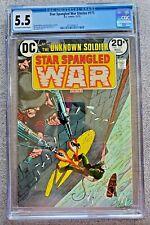 Star Spangled War Stories #175 CGC 5.5 FN- Nov 1973 Bronze Age 20 cent DC Comic