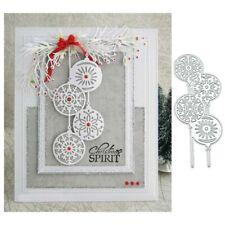 Snowflake Cutting Dies Metal Die Cut DIY Scrapbooking Paper Crafts &Fine