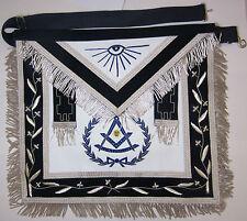 Masonic Apron Deluxe Past Master Mason Freemason US Seller