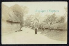 1908 Heydon Lane Elmdon Essex Postcard D49