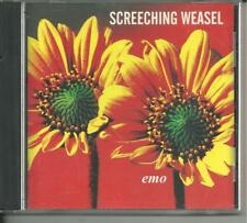 Screeching Weasel Emo Cd Rare Oop Panic Button Lookout Records Nofx Green Day