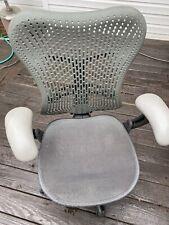 Herman Miller Mirra Grey Mesh Desk Chairs