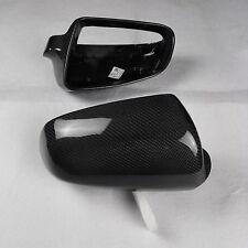 for Audi A4 B7 car mirror cover cap ABS + carbon fiber Replacement