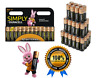 12 Duracell AA Power Alkaline Batteries Economy Pack LR6 MN1500 Battery Long Exp
