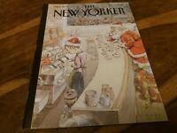 New Yorker Magazine Dec 17th 2018 Santas Little Helpers John Cuneo Front Cover