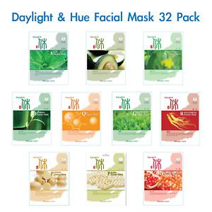 32 Essence Mask Moisturising Elasticity Nutrition Facial Skin Face Fresh Healthy