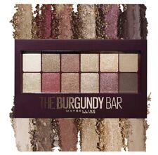 Maybelline Burgundy Bar Eyeshadow Palette Ultra-Blendable Pigments.New. W/ Brush