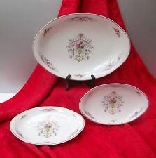 Porcellana di Limoges trois piatti a base di servizio perfette condizioni