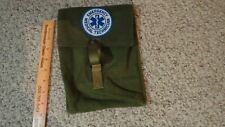EMERGENCY MEDICAL TECHNICIAN CANVAS UTILITY BELT SUPPLY POUCH  EMT FIREFIGHTER