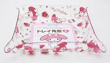 Brand New My Melody Square Plastic Tray S size Sanrio Kawaii Free Shipping
