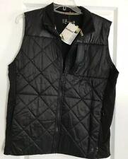 NWT Mens SMARTWOOL Smartloft 120g  Sz XL Full Zip Merino Wool Vest Black