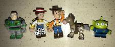 Disney Pixar Toy Story Kubrick Figure Set Buzz Alien Jessie Woody Bullseye VTG