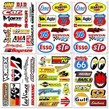 Automotive Car Truck Garage Sponsor ATV Racing D6731 Pack 6 Vinyl Decals Sticker