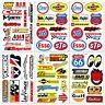 Automotive Car Truck Garage Sponsor ATV Racing D6731 Pack 6 Vinyl Decals Sticker