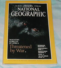 National Geographic Magazine October 1995
