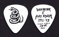 Metallica White Snake Guitar Pick #2 - 2012 Tour