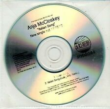 (DD539) Anja McCloskey, Italian Song - 2012 DJ CD
