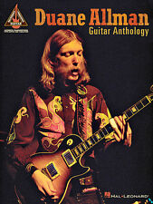 DUANE ALLMAN BROTHERS GUITAR ANTHOLOGY TAB SONG BOOK