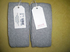 1 x BNWT SEED GREY MARLE FOOTLESS Tights 3 Sizes 3-5 & 6-9 & 9-12yrs FREE POST