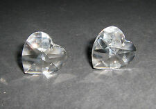 SWAROVSKI ® -Cuore 1 Pz 8781-28 mm. Clear Crystal Strass Senza Logo Heart