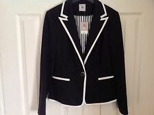Nautical Navy Blue Blazer Size 10