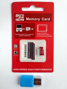 256GB MicroSDXC Class10 UHS-3 Memory Card Free SD USB AdapterMicroSDU3 UHS-III