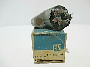 NOS1967 PONTIAC LEMANS GTO TEMPEST IGNITION SWITCH PART #1116679