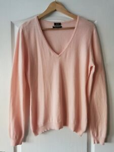 F&F Ladies Cashmere Jumper In Size 14 Chest 36 Inches