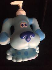 Blue's Clues Hand Soap Lotion Dispenser Bottle PVC