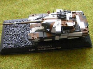 Chieftain MK V Berlin camo tank diecast (Altaya/ Deagostini) 1/72 20mm