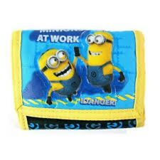 Disney Minions at Work Blue Tri-fold Wallet-Minions Blue Tri-Fold Wallet-New!