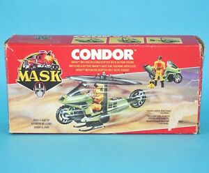 M.A.S.K CONDOR MOTORCYCLE COMPLETE BOXED EURO BOX 1980s KENNER
