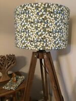 20cm/30cm/40cm Lampshade in Liberty of London Tana Lawn MITSI in Green